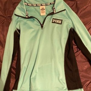 teal PINK pullover
